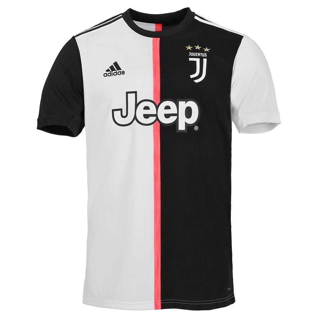 premium selection 75687 f6a68 2019-2020 Serie A Juventus FC Home jersey Uniform Cristiano Ronaldo  football Kit fashion Dybala short-sleeve T-shirt