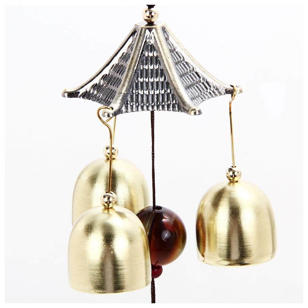 Outdoor Living Yard Wind Chimes Hanging Docor Garden Copper Windchimes 3 Bells S By Rainning.