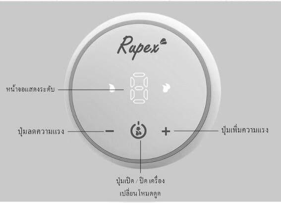 รีวิว เครื่องปั๊มนมไฟฟ้า เครื่องปั๊มนม เครื่องปั้มนมปั๊มคู่ RUPEX 8025 รูเป็ก 8025 (สีชมพู) ปั๊มคู่ไฟฟ้า มีแบตเตอรี่ในตัว แรงดูดดี ทนทาน ของแท้ ส่งไว มีเก็บเงินปลายทาง ประกันมอเตอร์และแบตนาน 6เดือน