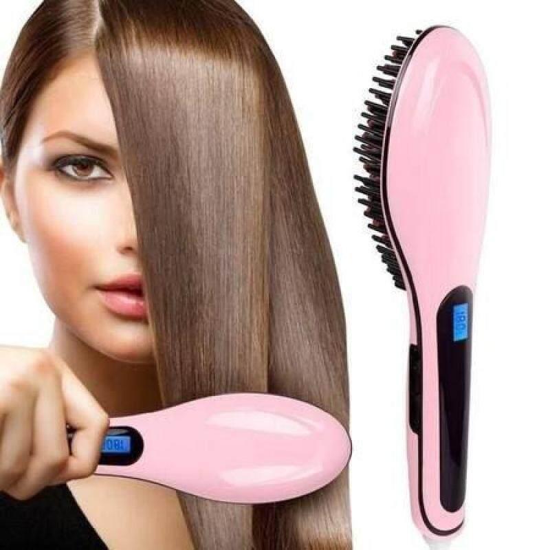 [kikiface] หวีหนีบผม หวีไฟฟ้า หน้าจอดิจิตอล หวียืดผมตรง หวีผมตรงไฟฟ้า Fast Hair Straightener หวียืดผมตรงแท้ แปรงหวีผมไฟฟ้า หวีผมตรงไฟฟ้า.
