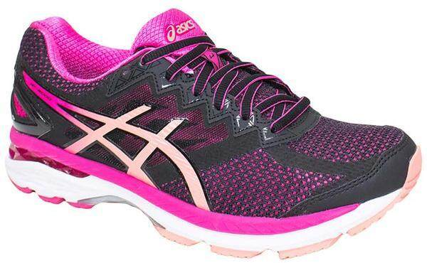 Asics // Gt - 2004 (d) // T657n.9076 // Black/peach Melba/sport Pink (woman) By Asics Outlet.