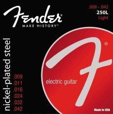 ซื้อ Fender สายกีตาร์ไฟฟ้า รุ่น 250L ถูก ใน ไทย