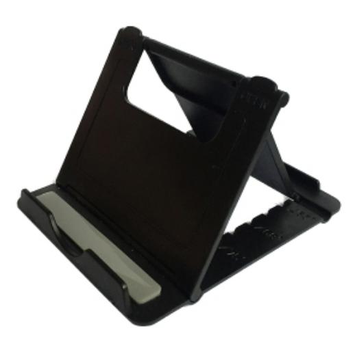 แท่นวางมือถือ ที่วางมือถือ บนโต๊ะแบบปรับพับได้ ที่วางโทรศัพท์ ฐานวางโทรศัพท์ ที่วาง มือถือ สมาร์ทโฟน แท็บเล็ต Phone Stand Multi-Angle.