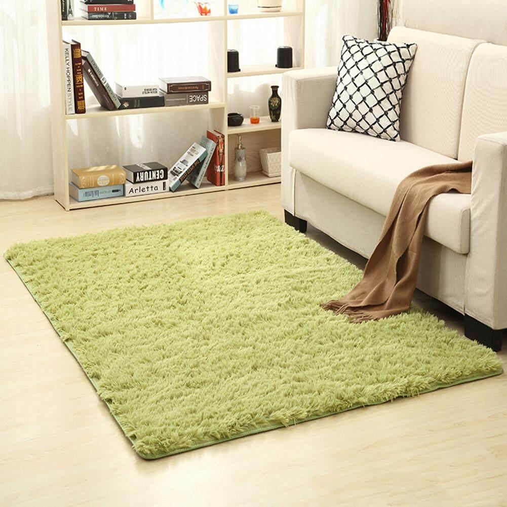 Home 60x160cm Solid Color Carpet Mat For Living Room Tea Table Bedroom Bedside Decor