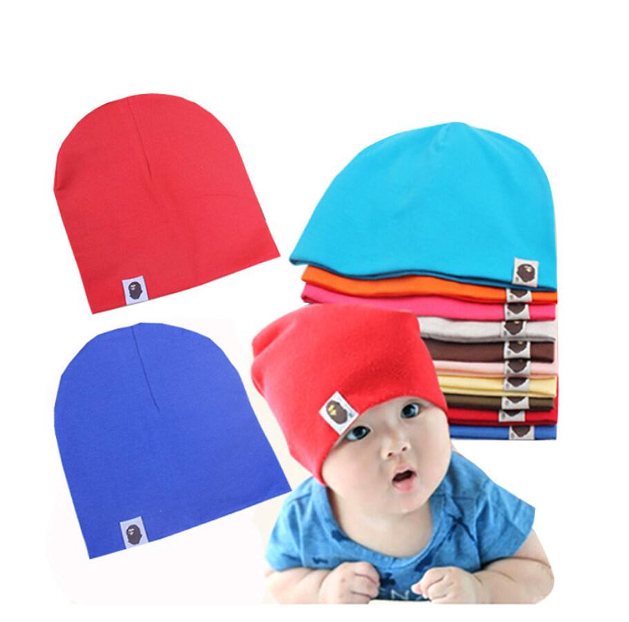 หมวกทารก หมวกกันหนาว หมวกเด็กทรงเกาหลี หมวกเด็กอ่อน.