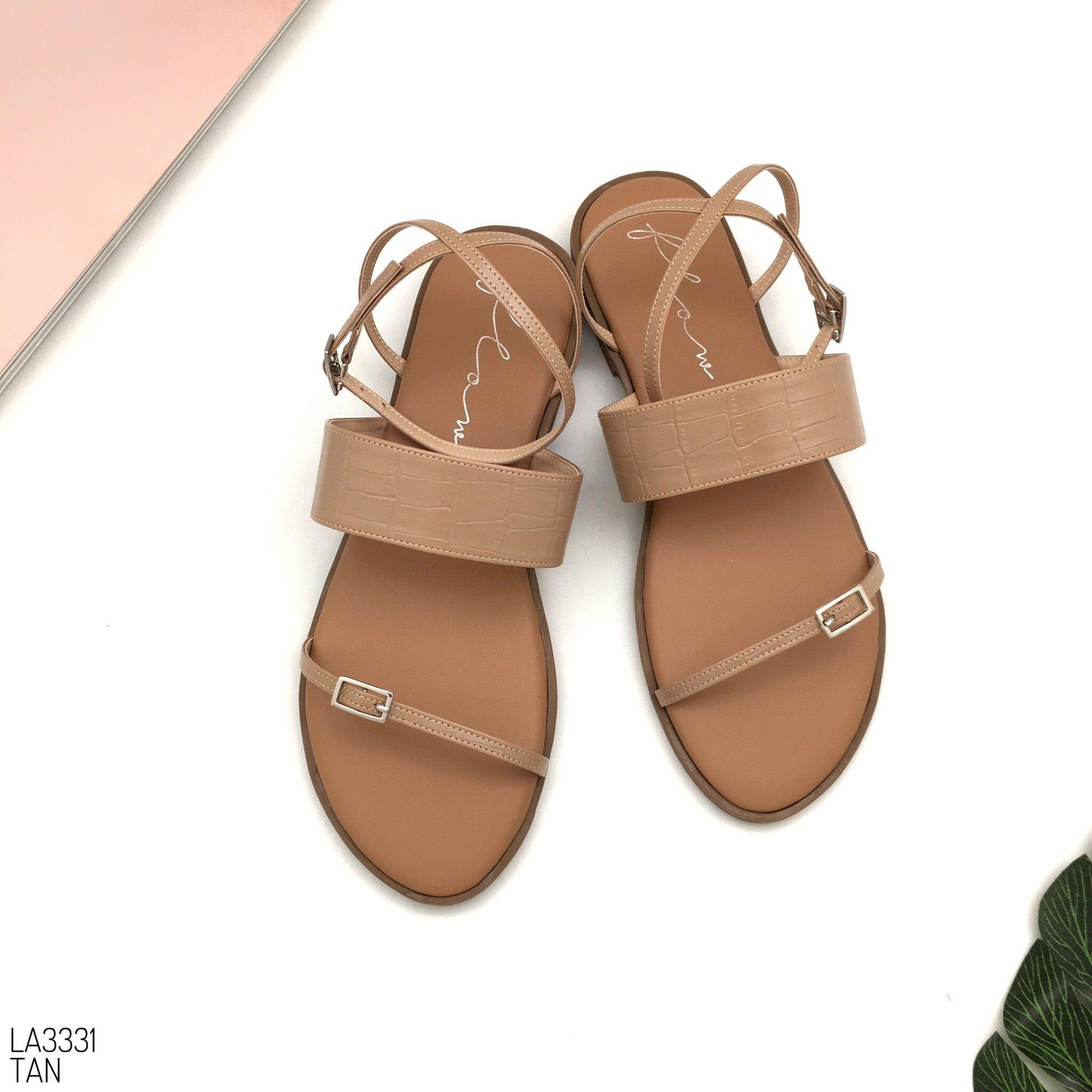 Halobangkok รองเท้า Sandals หนังพียู รุ่น La3331.