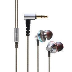 FiiO EX1 หูฟังอินเอียร์ ประกันศูนย์ 1ปี  (สีเงิน)