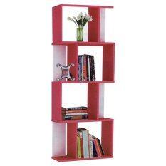 ซื้อ Enzio ชั้นวางอเนกประสงค์ 4 ชั้น รุ่น S View 4 Shelf Pink Enzio