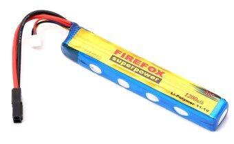 FireFox แบตเตอรี่บีบีกัน ลิเทียมพอลิเมอร์ Li-Po Battery 11.1V 20C/1200mAh