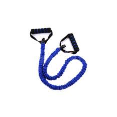 โปรโมชั่น Fitness Workout Exercise Elastic Resistance Band Pull Rope Yoga Pilates Strength Blue Best ใหม่ล่าสุด