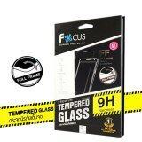 ราคา Focus ฟิล์มกระจกนิรภัยแบบเต็มจอ Full Frame Tempered Glass สำหรับ Iphone 6 Plus 6S Plus สีดำ ใหม่
