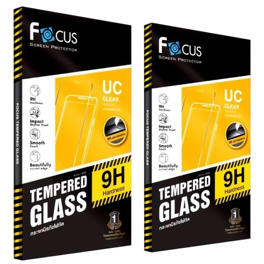 ขาย ซื้อ ออนไลน์ Focus ฟิล์มกระจกนิรภัยโฟกัส Asus Zenfone Zoom 5 5 นิ้ว แพ็ค 2 ชิ้น