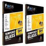 Focusฟิล์มกระจกนิรภัยโฟกัสSamsung Galaxy J2 แพ็ค2ชิ้น ใหม่ล่าสุด