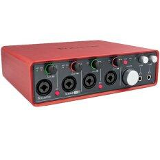 Focusrite Scarlett 18i8 (Red)