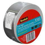 ราคา Foil Tape เทปอลูมิเนียม 3M ขนาด 50Mmx45M ใหม่