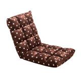 ขาย ซื้อ ออนไลน์ Folding Chairs เก้าอี้พับปรับระดับได้ สีน้ำตาลลายจุด