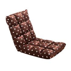 ราคา Folding Chairs เก้าอี้พับปรับระดับได้ สีน้ำตาลลายจุด Thailand
