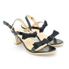 ขาย Splash Footin รองเท้าผู้หญิง ส้นสูงแบบรัดส้นLadies Heels Mule Sling Backสี ดำ รหัส7616926 ออนไลน์
