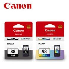 ซื้อ For Canon Ink Pg 88 Black Cl 98 Color E500 E510 E610 ไทย