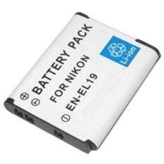 ทบทวน For Nikon แบตเตอรี่กล้อง รุ่น En El19 Replacement Battery For Nikon