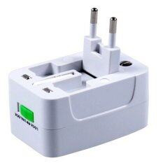 ราคา Free Pouch Universal Travel Adaptor Adapter Global Charger World Wide International Use เป็นต้นฉบับ