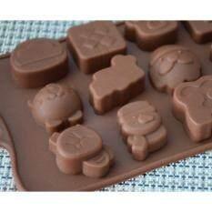 ความคิดเห็น Freshyware แม่พิมพ์ซิลิโคน พิมพ์วุ้น ทำน้ำแข็ง ทำ Chocolate Food Grade ชุดคริสต์มาส ไอคอน Christmas Icon ลุงซานต้า Multicolor