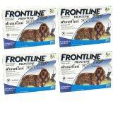 ทบทวน Frontline Plus For Dogs 10 20Kg กล่องละ 3 หลอด 4 Units Frontline Plus
