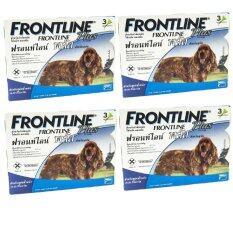 ขาย Frontline Plus For Dogs 10 20Kg กล่องละ 3 หลอด 4 Units ถูก