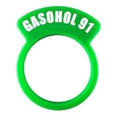 ซื้อ Fuel Tag ป้ายบอกชนิดของน้ำมันเชื้อเพลิง แก๊สโซฮอล 91 Green ถูก ใน กรุงเทพมหานคร