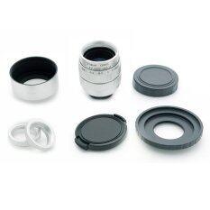 ทบทวน ที่สุด Fujian 35Mm F 1 7 Cctv Lens For Canon Mirrorless Silver