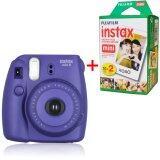 ราคา Fujifilm กล้อง Instax Mini 8 With Strap และแบตเตอรี่ สีม่วง Fujifilm Instax Film สีขาว 20 แผ่น Fujifilm ออนไลน์