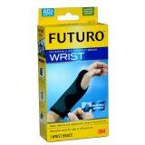 ราคา Futuro Wrist อุปกรณ์พยุงข้อมือ ปรับกระชับได้ เสริมแถบเหล็ก 1ชิ้น สีดำ ใหม่