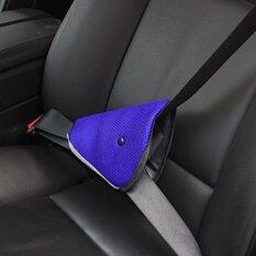 G2G ที่คาดเข็มขัดนิรภัยในรถยนต์สำหรับเด็ก สีน้ำเงิน