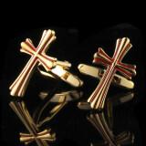 ซื้อ Gadgetz Cuff Links ไม้กางเขนทองสลับแดง รุ่น I1601 ออนไลน์ กรุงเทพมหานคร