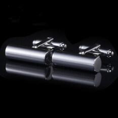 โปรโมชั่น Gadgetz Cuff Links กระบอกเงิน รุ่น I701 Gadgetz