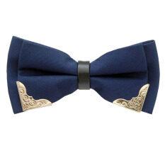 ซื้อ Gadgetz หูกระต่ายขลิบทอง 2 มุม เส้นกลางดำ หูกระต่าย โบว์ไท Bow Tie รุ่น B907 ออนไลน์ กรุงเทพมหานคร