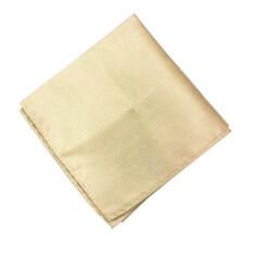 Gadgetz ผ้าเช็ดหน้าสูท สีแชมเปญ Pocket Handkerchief รุ่น H102 By Gadgetz.