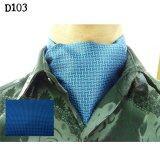 ซื้อ Gadgetz ผ้าพันคอใช้กับเสื้อ Shirt Suit Scarf Scarves D103 Navyblue ใหม่ล่าสุด