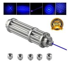 GadgetZ Super Blue Laser เลเซอร์แรงสูง จุดไฟติด แท่งสั้น (3W)