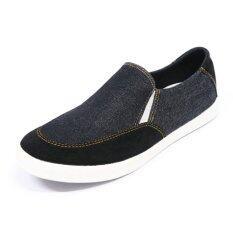 ขาย ซื้อ Gambol รองเท้าผ้าใบ รุ่น Gb82106 ยีนส์ดำ กรุงเทพมหานคร
