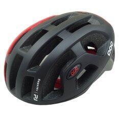 Gateway หมวกจักรยาน รุ่น Poc 580 สีดำ แดงด้าน ใหม่ล่าสุด