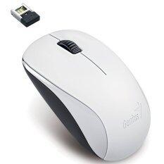 ราคา Genius เม้าส์ไร้สาย Wireless Mouse Blueeye Nx 7000 White Genius เป็นต้นฉบับ
