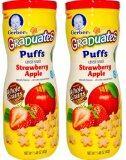 ขาย Gerber Graduates Strawberry Apple Puffs Pack Of 2 ออนไลน์ ใน Thailand