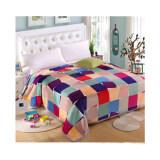 ราคา Getagift ผ้าห่มนาโน Colorful Sqaure ขนาด 180X200ซม Thailand