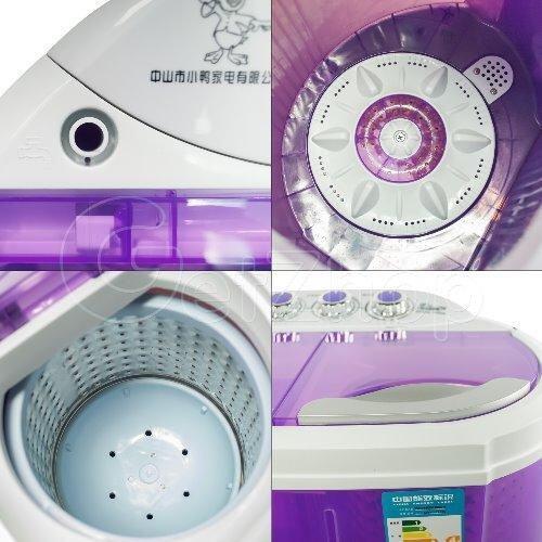 มีของแถม ส่งฟรี เครื่องซักผ้า No Brand ลด -60% 4.5kg Mini Washing Machine เครื่องซักผ้า เครื่องซักผ้าฝาบน เครื่องซักผ้าและเครื่องอบผ้า(ขาว) ขายถูกๆ ส่งฟรี