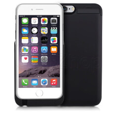 Getzhop Power Case เคสชาร์จแบตสำรอง Iphone 6 Plus ความจุ 5 000 Mah Black ถูก