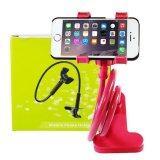 ราคา Getzhop ตัวหนีบมือถือ Smartphone ปรับระดับได้ แบบตั้งโต๊ะ Red Getzhop