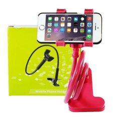ราคา Getzhop ตัวหนีบมือถือ Smartphone ปรับระดับได้ แบบตั้งโต๊ะ Red Getzhop ไทย
