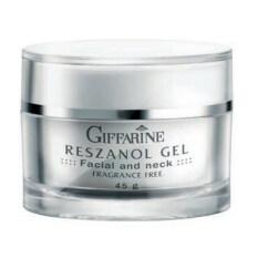 Giffarine ผลิตภัณฑ์บำรุงผิวหน้าและลำคอ Reszanol Gel ใหม่ล่าสุด