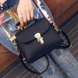 ซื้อ Girly Bags กระเป๋าถือ พร้อมสายสะพาย กระเป๋าสะพาย แบบมีหูหิ้ว รุ่น Gb 063 สีดำ Girly Bags